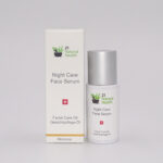 21NH Night Care Face Serum Box Bottle